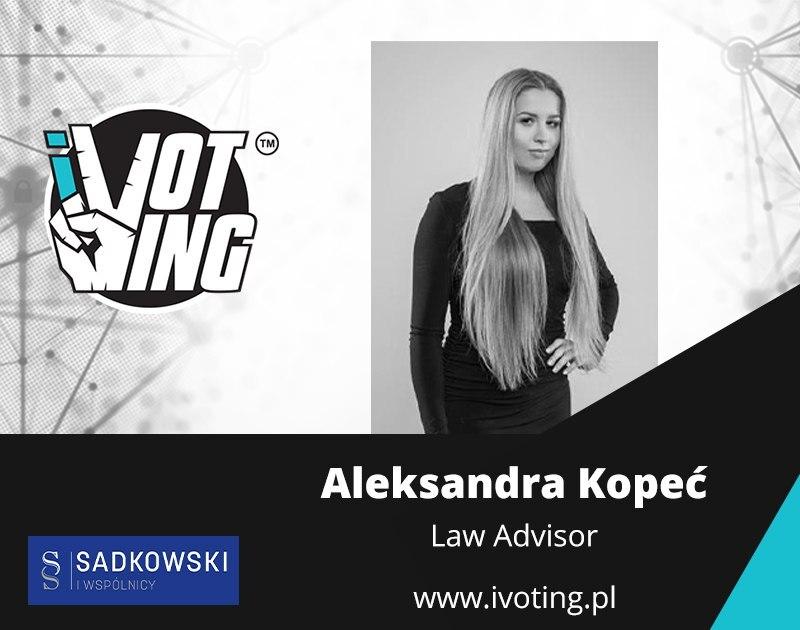 Aleksandra Kopeć iVoting