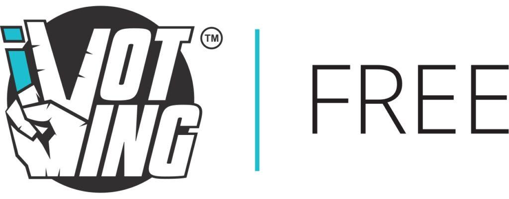 ivoting free logo